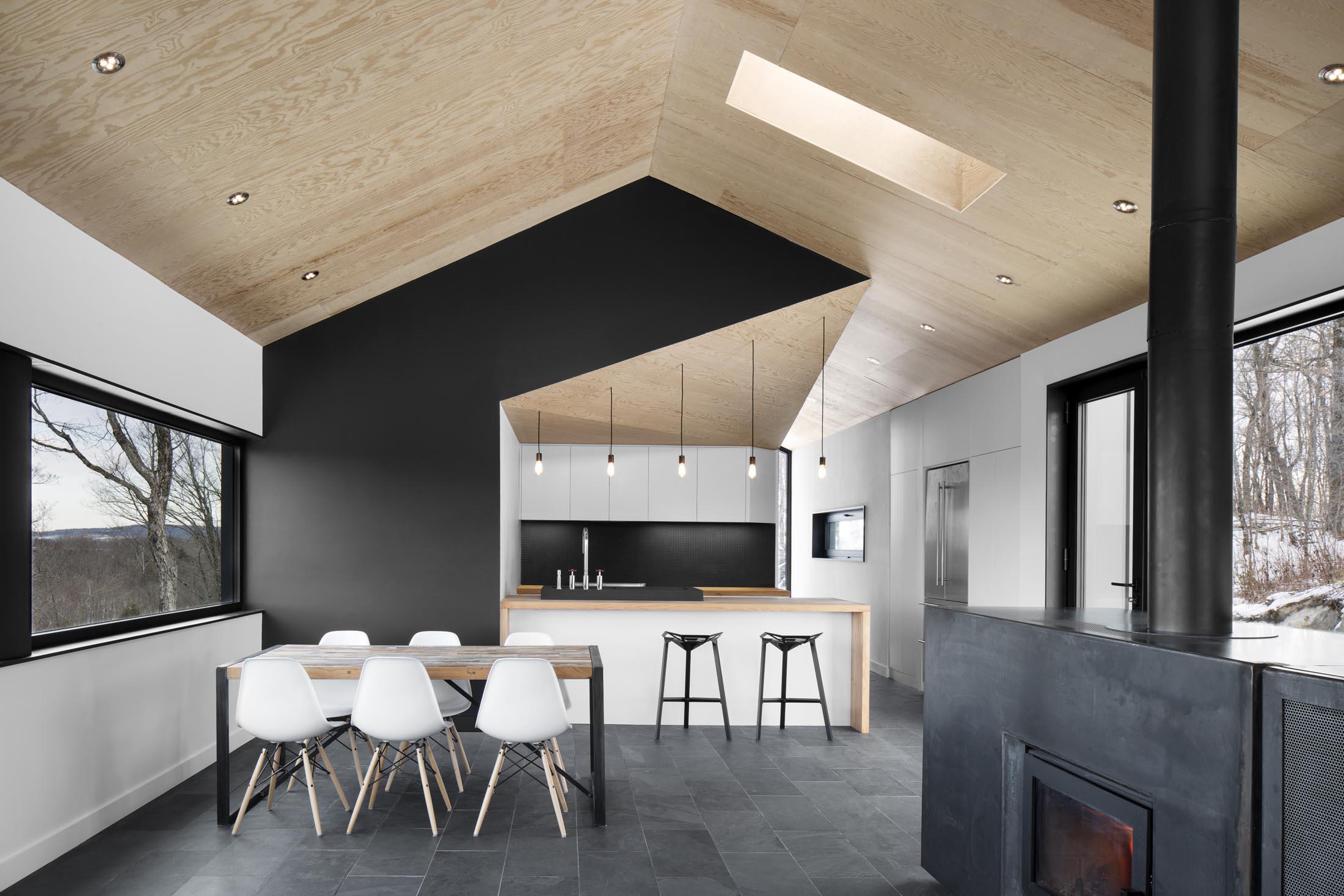 Tra le nevi del canada start for Design di una casa a un piano